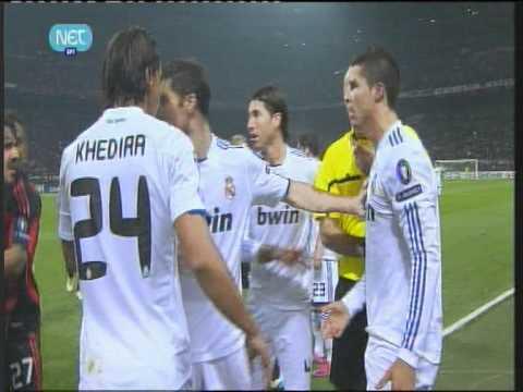 Cristiano Ronaldo vs Abate ( Milan – Real Madrid 3-11-2010 )