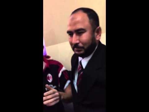 AC Milan – team visit to a neighbourhood Adidas store @ Dubai – slow-mo