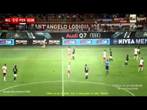 AC Milan vs Perugia 2-0   —– Full match    Coppa Italia 2015                17-08 2015 HD