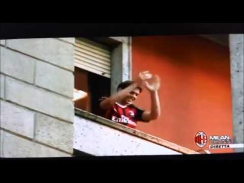 Welcome Home Ricardo Kaká AC Milan Sverige