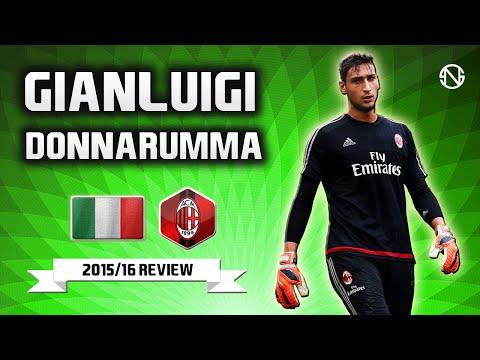 GIANLUIGI DONNARUMMA | Best Saves | AC Milan | 2015/2016 (HD)