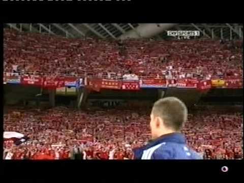 YNWA – Athens – Champions League Final 2007 – Liverpool v AC Milan