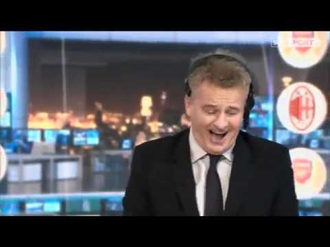 Sky Sports Charlie Nicholas Goes Crazy – Arsenal 3-0 AC Milan – Very Funny!