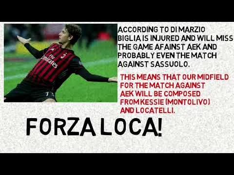 A.C MILAN – Let me give you the news!