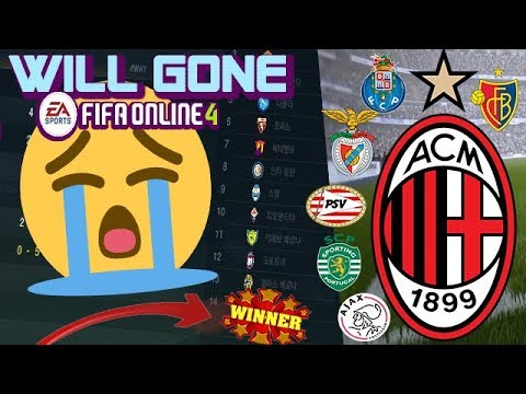 FIFA ONLINE 3 ROSTER UPDATE 2018… AC MILAN & THIS TEAMS WILL BE REMOVED..+ GIVEAWAY WINNERS