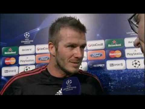 Manchester United v AC Milan UCL – 10/03/2010