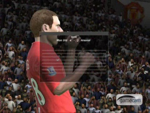 Man Utd vs Arsenal: penalty shootout fifa 09