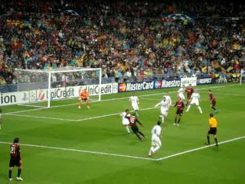 AC Milan's second goal Vs Real Madrid