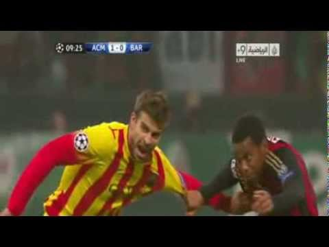 Barcelona Vs AC Milan 1-1 All Goals & Full Match HighLights 22.10.2013 HD