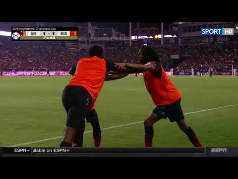 AC Milan vs Manchester United 1-1 (PEN 8-9) Highlights  26072018 (ICC 2018)
