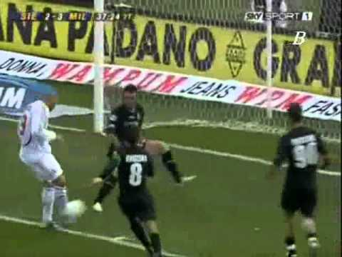 Siena Vs Milan Serie A 2007 Part 6/7