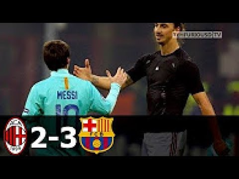 AC Milan vs FC Barcelona 2-3 All Goals and Highlights with English Commentary (UCL) 2011-12 HD 720p