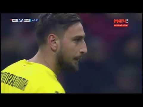 Gianluigi Donnarumma and David Ospina's Heroic Performances / Milan 0-0 Napoli