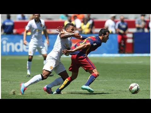 Bay Area gets a look at big soccer clubs Barcelona, AC Milan