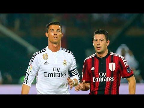 Real Madrid 2-4 AC Milan | Goles | 30/12/2014 | Amistoso