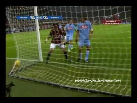 all goals ronaldinho in AC Milan until 26/11/08 ~~ promo new season 2008-09~~ kaka san siro