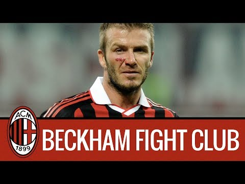 Ac Milan Fight Club with David Beckham