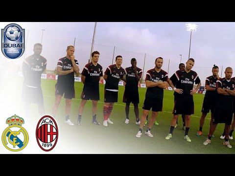 GoPro Football – Training with AC Milan – #DubaiFC | Dubai Football Challenge