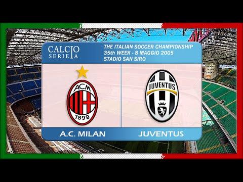 Serie A 2004-05, AC Milan – Juve (Full, RU)