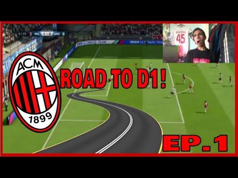 AC MILAN ROAD TO DIVISION 1 ep.1