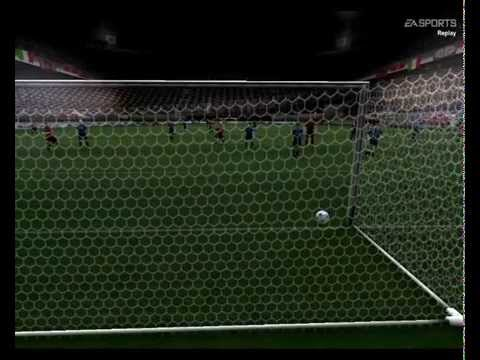Fifa 2004 AC Milan Vs InterMilan Gameplay