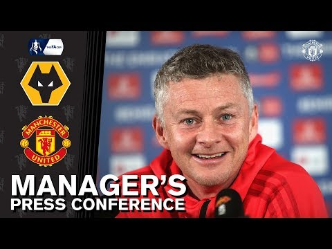 Manager's Press Conference | Wolves v Manchester United | Ole Gunnar Solskjaer