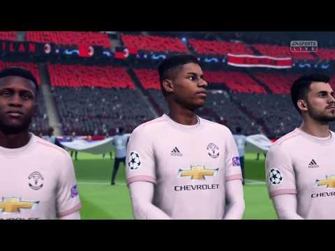 FIFA 19: Milan vs Manchester United (Champions League)