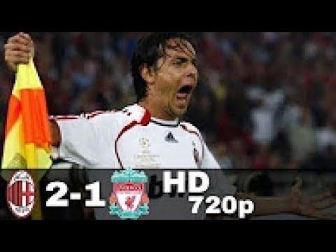 Milan ~ Liverpool 2-1 final Liga Champions 2007