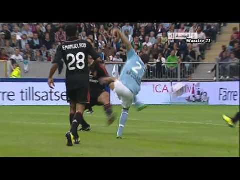 Highlights AC Milan 2-2 Malmo – 14/08/2011