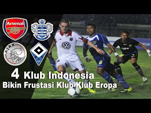 4 Klub Indonesia Yang Mampu Imbangi Klub-Klub Eropa…