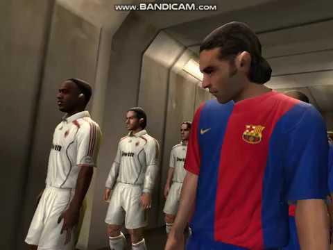 FIFA 2007 BARCELONA vs AC MILAN