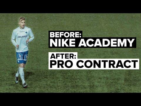 Nike Academy: How I became a Pro Footballer | Pontus Almqvist
