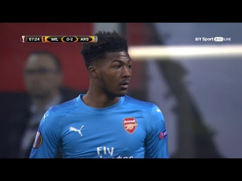 Ainsley Maitland-Niles vs AC Milan | Locks Down AC Milan | 8/3/2018