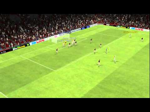 FM 2011 A.C. Milan vs Real Madrid – Sergio Ramos Goal 90th minute
