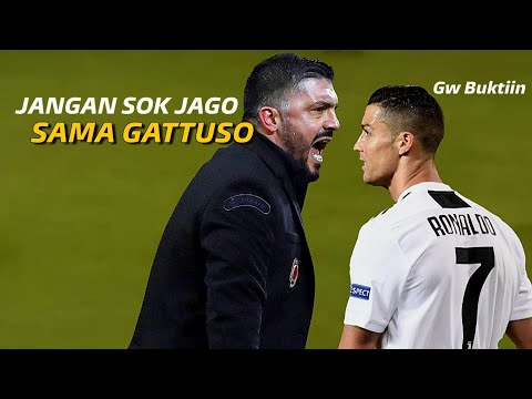 Lihat Pembalasan yang Dilakukan C. Ronaldo Pada Gattuso Legenda AC Milan