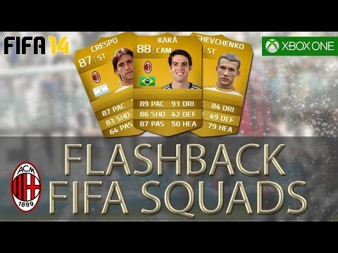 FLASHBACK FIFA SQUADS – Legendary AC Milan 2005 Champions League Final
