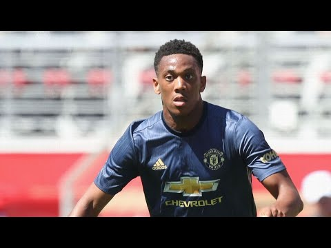 Manchester United's Anthony Martial leaves camp in U.S. for birth of his child