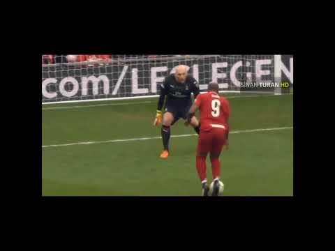 Liverpool Legends 3-2 AC Milan – Match Highlights | Andrea Pirlo,Steven Gerrard…