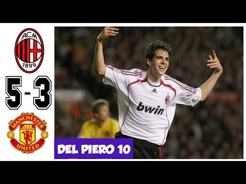 AC Milan vs Manchester United 5-3, KAKA SHOW HIS MAGIC TO THE WORLD – UCL 2007