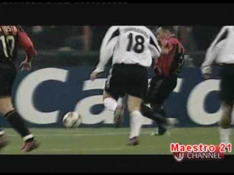 Highlights  AC Milan 4-0 Shakthar – 24/11/2004