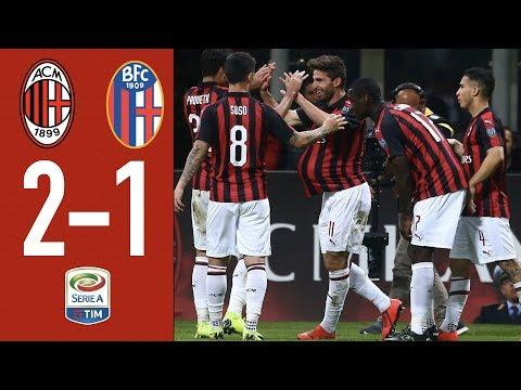 Highlights AC Milan 2-1 Bologna – Matchday 35 Serie A TIM 2018/19