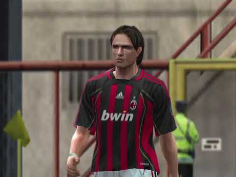 Pes 6 PC Gameplay Ac Milan vs Real Madrid