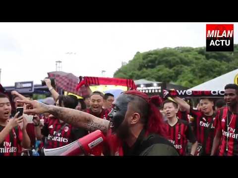 Chinese Milan's fans are waiting AC Milan – BVB Dortmund | MilanActu HD