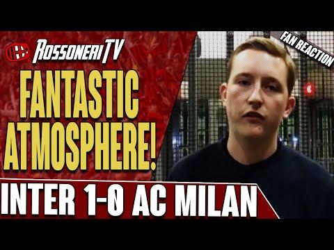 Fantastic Atmosphere! | Inter 1-0 AC Milan | Fan Reaction