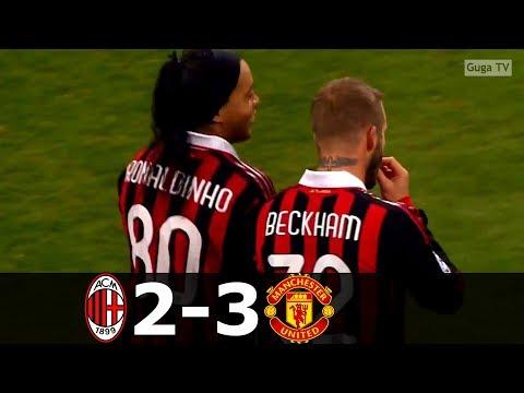 AC Milan vs Manchester United 2-3 – UCL 2009/2010 (1st Leg) – Highlights