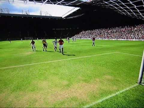 Manchester United vs. AC Milan (Fifa 10 highlights – 10.3.2010)
