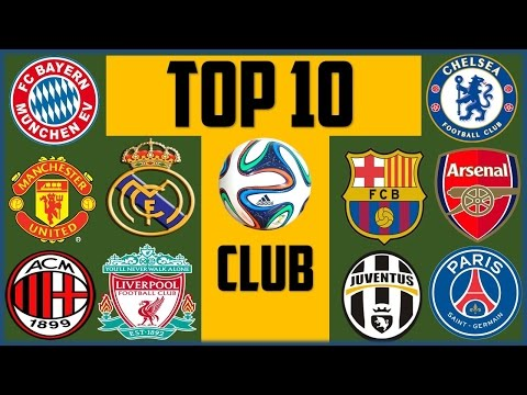 Top 10 richest football clubs in the world 2017.