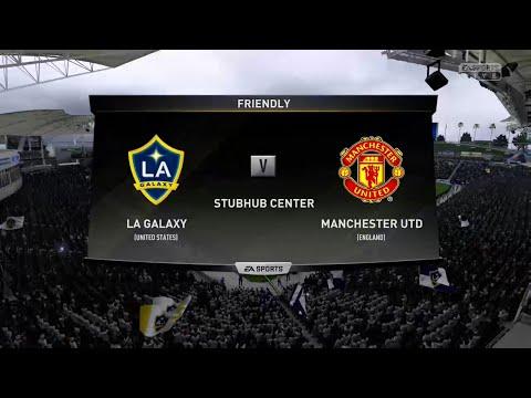 FIFA 19 LA GALAXY VS MANCHESTER UNITED @ THE STUBHUB CENTER