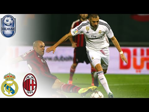 Full Match Highlights – Real Madrid vs AC Milan #DubaiFC | Dubai Football Challenge