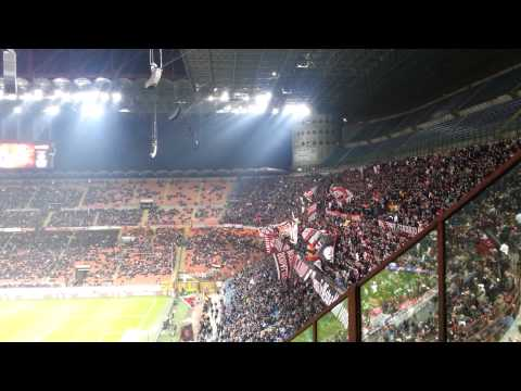 AC Milan starting lineup atmosphere